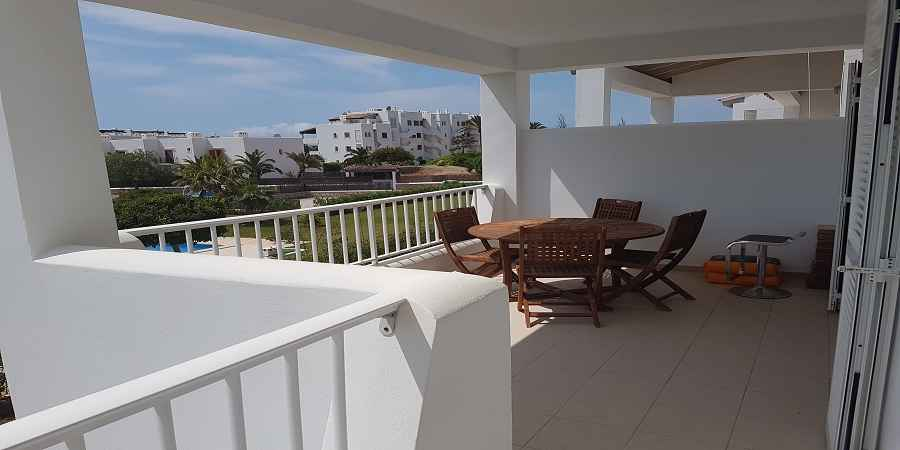 Modern apartment in Cala Egos Cala D'or with pool and large balcony in a small community