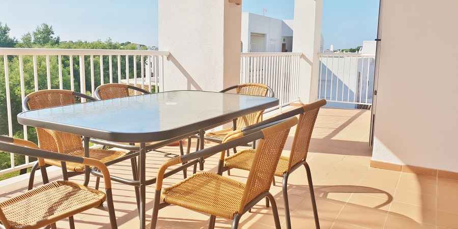Lovely two bedroom penthouse apartment with roof terrace, Cala Egos