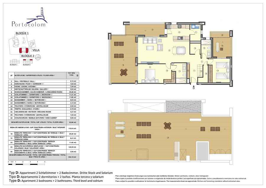 NEW build in 2 bedroom apartments with shared pool, South East Mallorca
