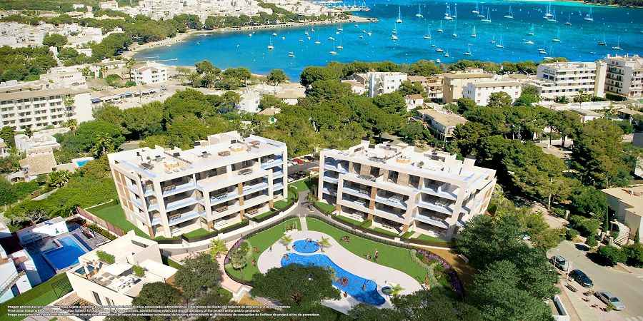 NEWBUILD by the beach 3 bedroom apartments, Southeast Mallorca