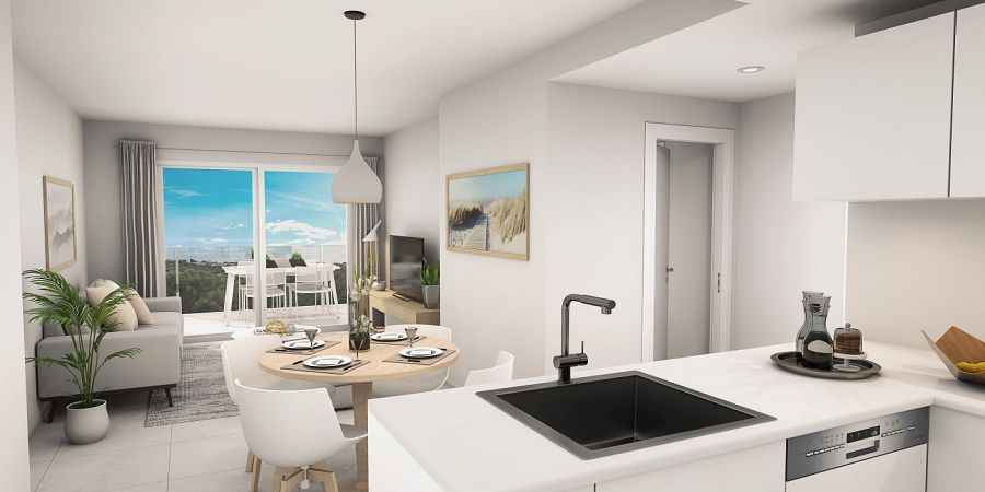 New build apartments in Cala Dor prices from