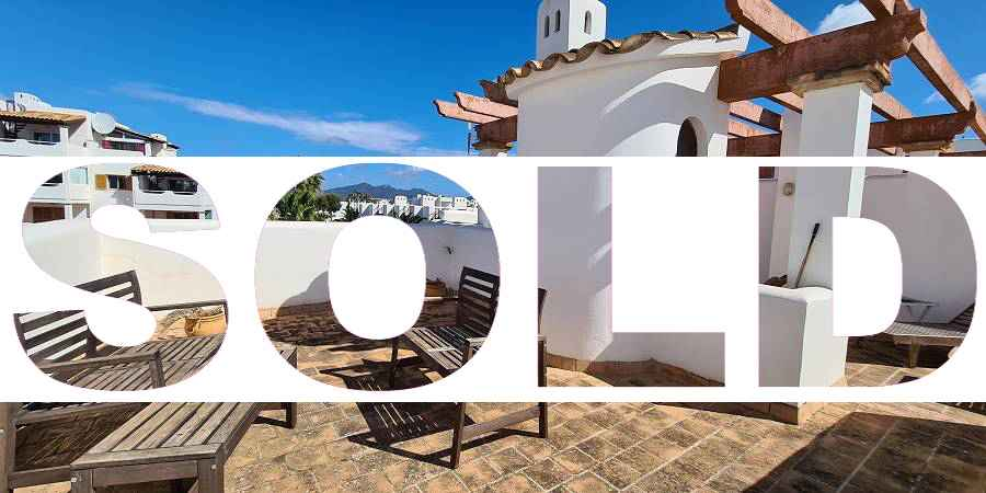 SOLD Penthouse apartment in Bella Luna with roof terrace, Cala D´or Cala Egos