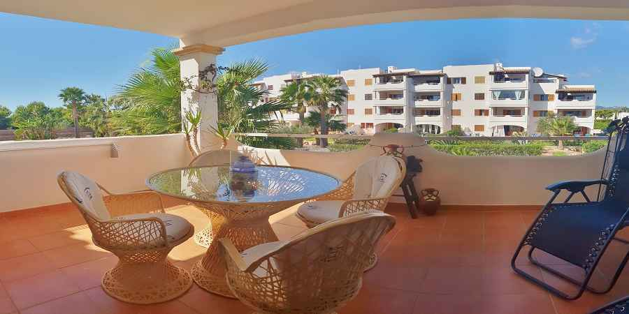 Wonderful two bedroom apartment in Bella luna, Cala Egos