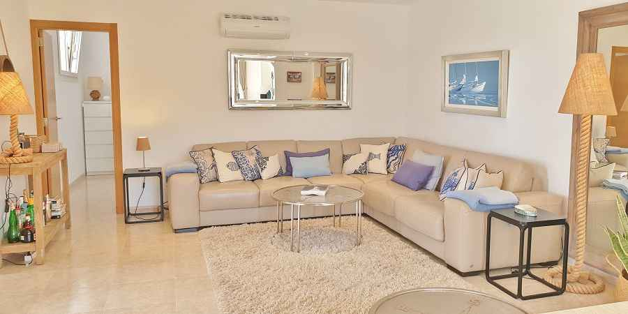 Executive exclusive seafront apartment in Cala d Or, Mallorca, Spain