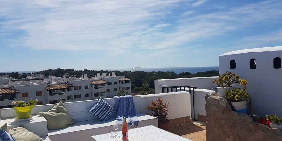 Top Penthouse Apartment with Lift and seaview Bella Luna Cala Egos