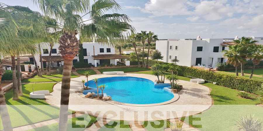Wonderful semi detached Villa in Cala Egos with pool in quiet residencial area