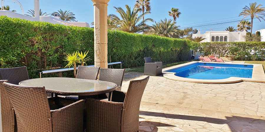 Attractive sea view Villa in Cala Egos Mallorca with heated pool