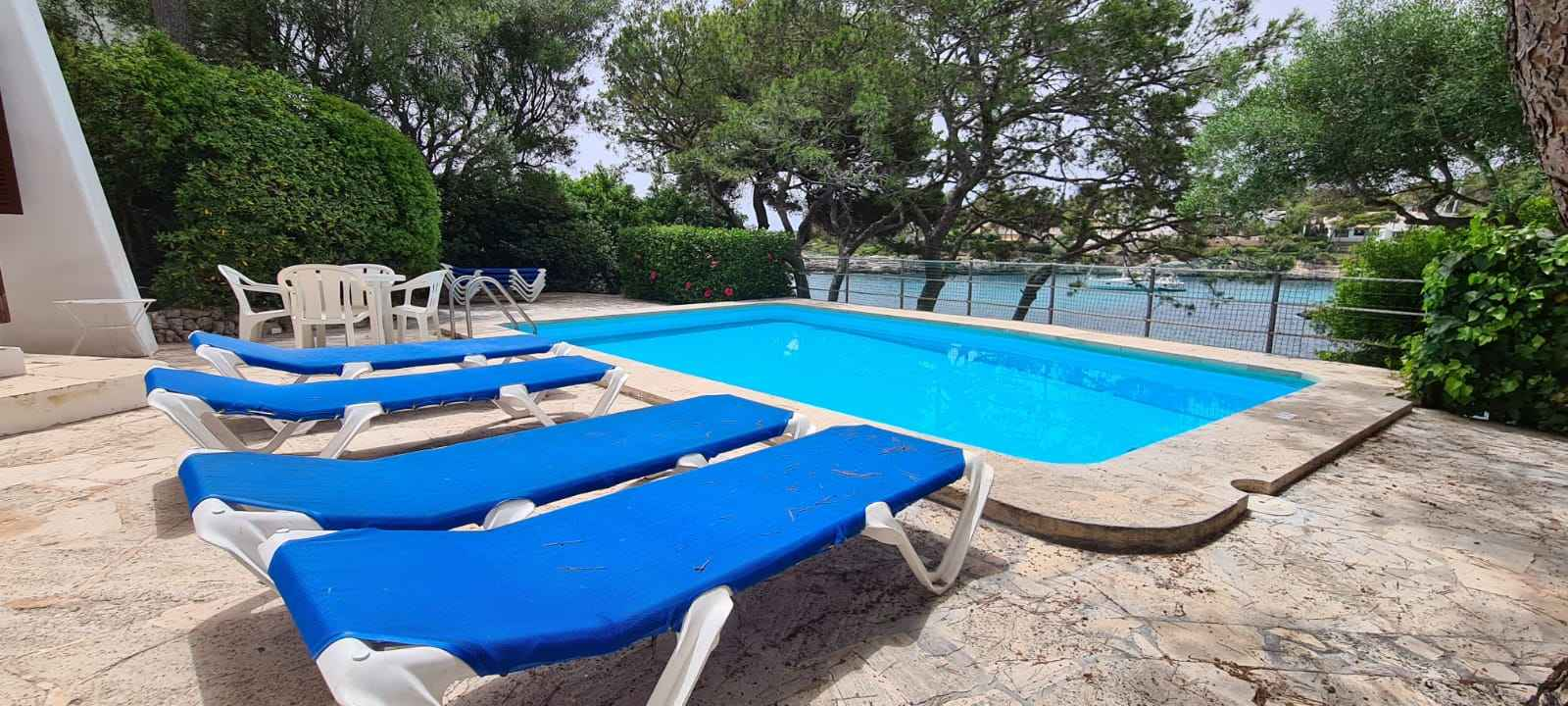 Front line villa with own access to the sea in Cala d Or, Mallorca