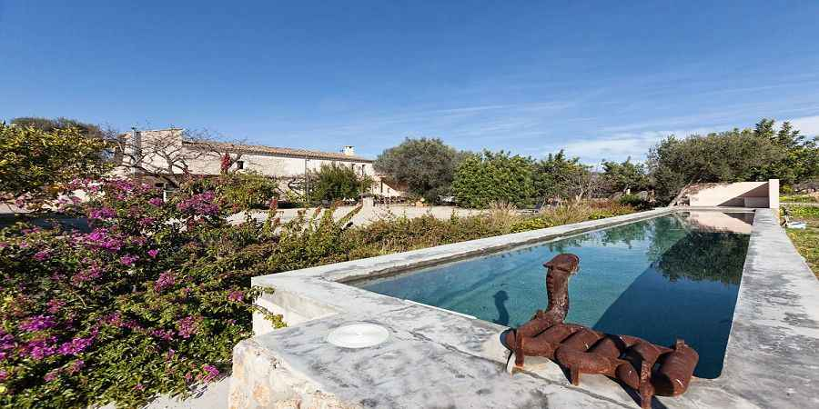 Horse Ranch in Selva, self-sustainable Finca, own well, Mallorca