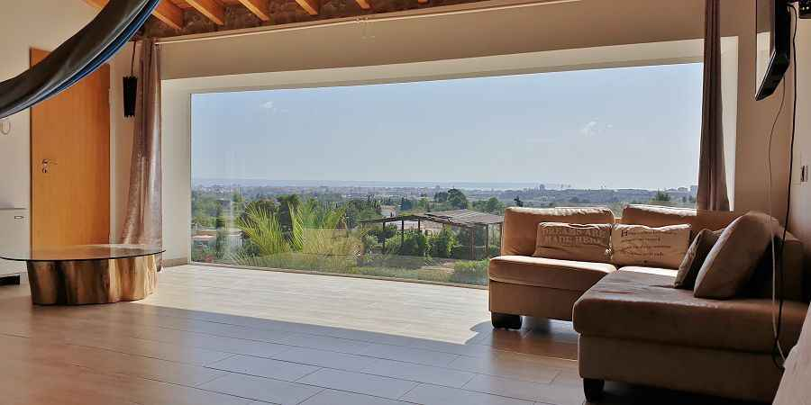 Mansion close to Palma with panoramic view over the bay of Palma